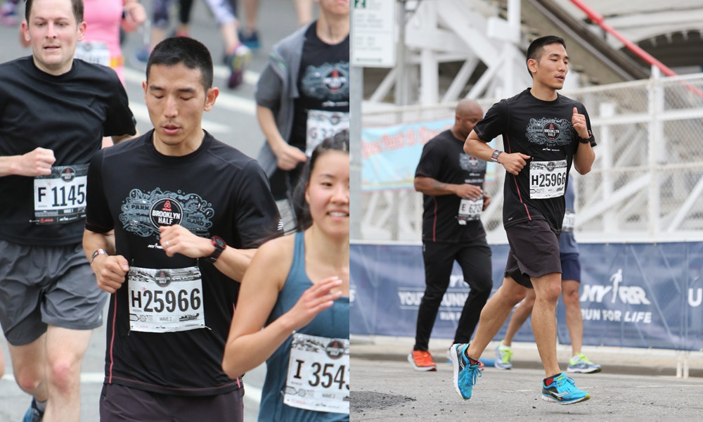My first time running the Brooklyn Half Marathon